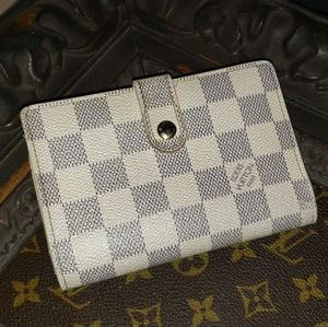Louis Vuitton Damier Azur Bifold Wallet